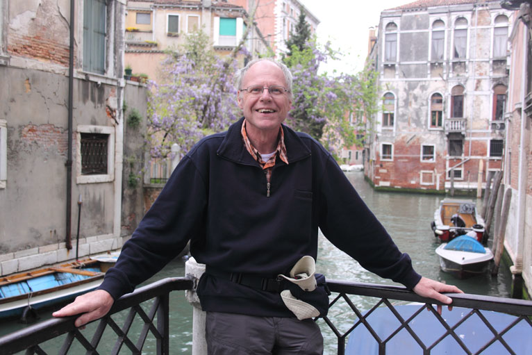 Paul Westrich 2009 in Venedig